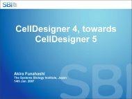 CellDesigner 4, towards CellDesigner 5