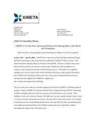 Founded in 1981 and headquartered in Alameda, Calif - Ximeta