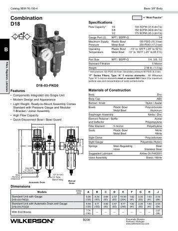 D18 Series - Wilkerson Corporation