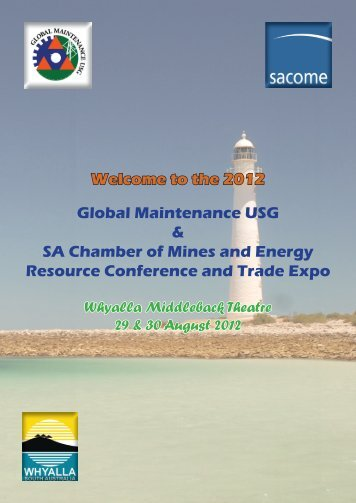 the 2012 Global Maintenance USG - City of Whyalla - SA.Gov.au