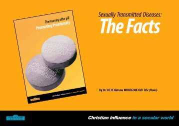 Sexually Transmitted Diseases: - The Christian Institute