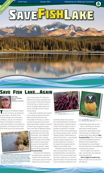 Read the full report... - Wilderness Committee