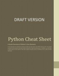 Python-Cheat-Sheet