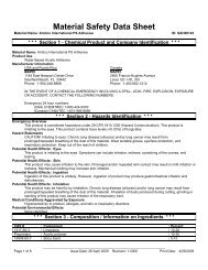 MSDS - Amtico PS Adhesive - Mannington