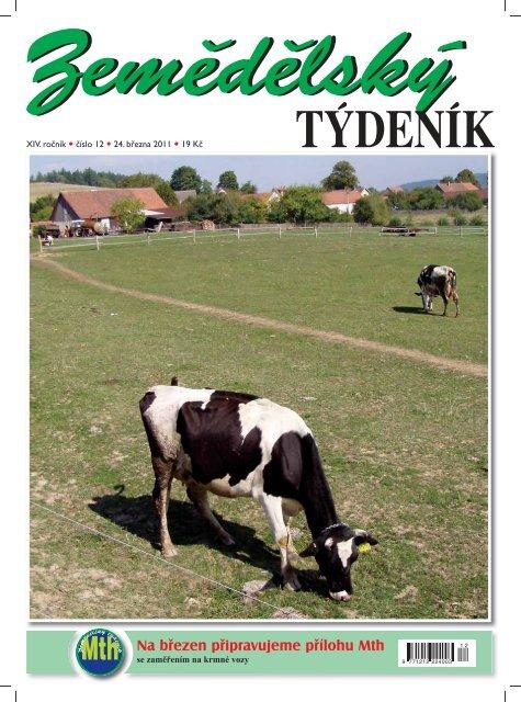 Zemědělský týdeník 12/2011