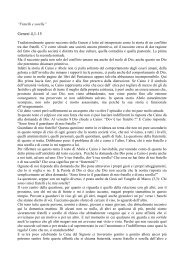 Genesi 4: 1-15 - 2 settembre 2012 - Torino VALDESE