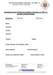 Aufnahmeantrag runterladen - KG Närrische Grielächer Worringen ...