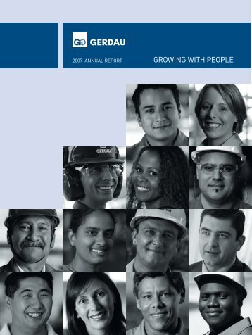 GERDAU 2007 ANNUAL REPORT