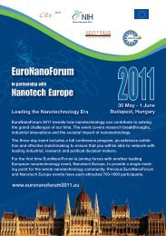 EuroNanoForum 2011 reveals how nanotechnology can contribute to