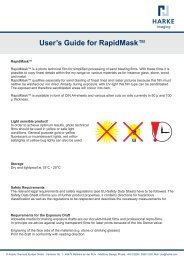 User's Guide for RapidMask