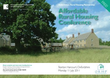 here - Oxfordshire Rural Community Council