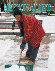 Download the Winter Issue - God's Bible School & College