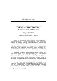 Philippe Barthélemy - Region et Developpement