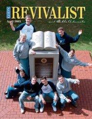 april 2005 - God's Bible School & College