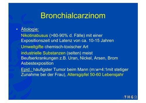 Bronchialcarzinom - FINeST
