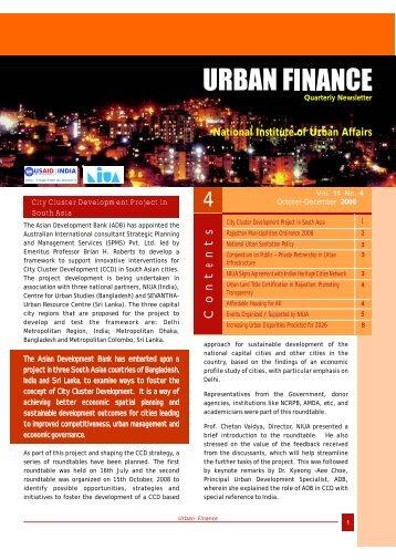 English - National Institute of Urban Affairs