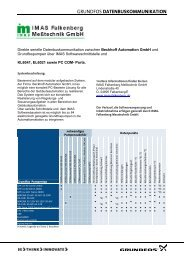 GRUNDFOS DATENBUSKOMMUNIKATION