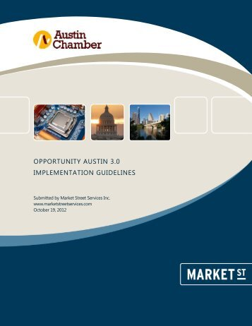 opportunity austin 3.0 implementation guidelines - The Greater ...