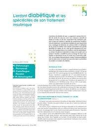 Rev Med Suisse 2007; 3: 994-1000 - HUG - Département de l'enfant ...