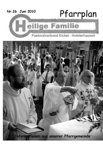 zum Pfarrplan als PDF Dokument - Kirchengemeinde Heilige ...