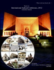 International Judicial Conference, 2012 - Law and Justice ...