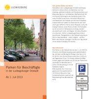 Parken für Beschäftigte - Stadt Ludwigsburg