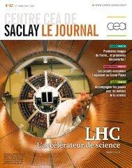 Assemblage du détecteur interne de l'expérience Atlas ... - CEA Saclay