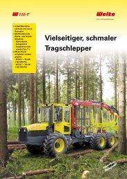 PDF Datenblatt Welte W110T Forwarder