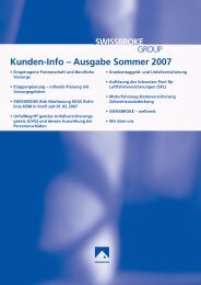 Kunden-Info – Ausgabe Sommer 2007 - swissbroke