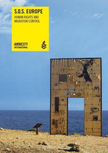 S.O.S. Europe - Amnesty International European Institutions Office