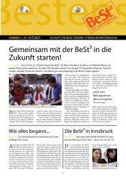 Gemeinsam mit der BeSt³ in die Zukunft starten! - VISIO-Tirol