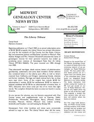 Newsbytes July 2010 - Mid-Continent Public Library