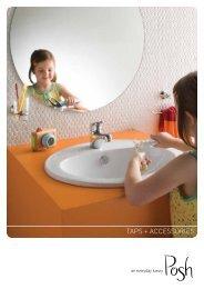 Posh Taps and Accessories Brochure   Reece Bathrooms