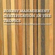 forest management certification in the tropics - Wageningen UR E ...