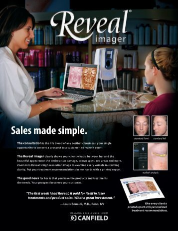 Reveal Brochure - Canfield Scientific Inc