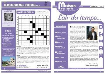 n° 12 Octobre 2012 - Villeneuve sur Lot