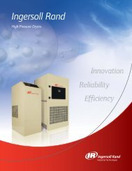 High Pressure Dryers 2.qxd - Ingersoll Rand