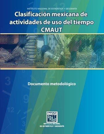 Documento Metodológico de la Clasificación Mexicana de ... - Inegi