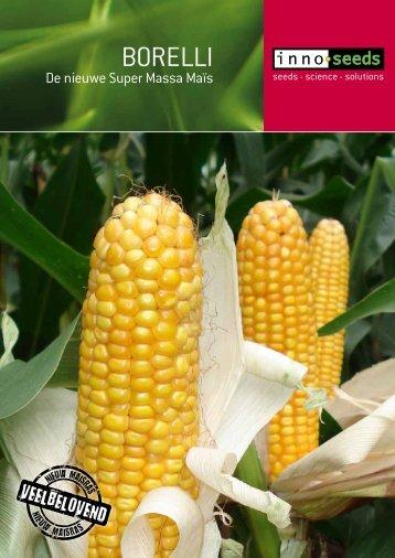 BORELLI De nieuwe Super Massa Maïs - Innoseeds
