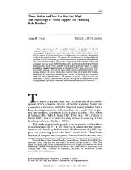 HeinOnline -- 31 Law & Soc'y Rev. 237 1997