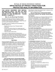 MC35208_0513 - HIPAA Privacy Notice ... - Mutual of Omaha
