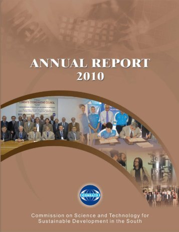 Annual Report 2010 - Comsats