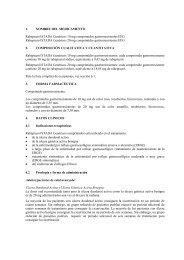 1. NOMBRE DEL MEDICAMENTO Rabeprazol STADA Genéricos ...