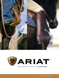 ariat® FootWEar aNd aCCEssoriEs WINTER 2009 - Just Country ...