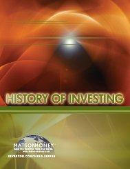 History of Investing - Betzel Wealth Advisors