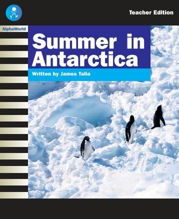 L23 TE Summer in Antarctica