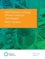 Motor Systems - Institute for Industrial Productivity