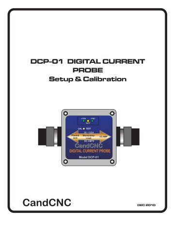 DCP-01 Manual-rev1.cdr - CandCNC