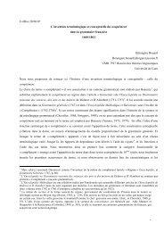 Texte intégral en pdf - Histoire des théories linguistiques