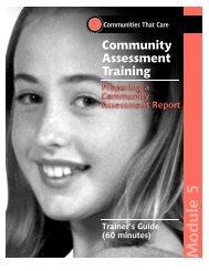 Community Assessment Training - Social Development Research ...